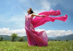 Brisa de Primavera / Lauritha Cambrnne (2) (ArmandoH2O) Tags: life verde azul rosa paisaje modelo ojos gabriela mirada hermosa naranja verdes herrera musulmana seductora