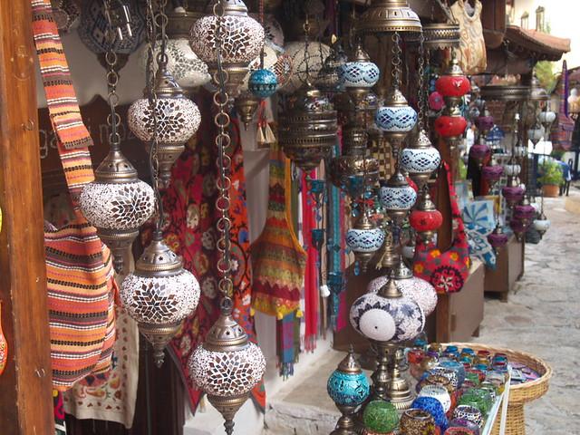 土耳其的燈飾