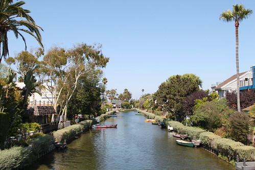 IMG_0124 ベニスビーチやマリナ・デル・レイから徒歩圏にあるこの運河。このベニスビー...