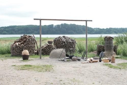 Kochutensilien Wikinger Museum Haithabu - WHH 04-07-2011