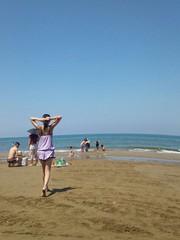 千里浜海水浴場1