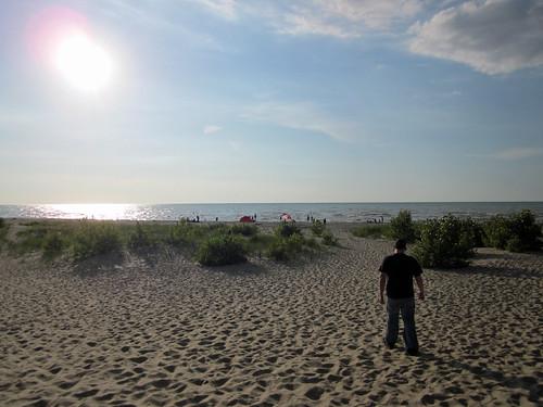 Beach in Port Franks, ON