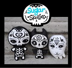 Sugar Skellies (fuish) Tags: cute halloween de dead toy los kat day spirit ghost bat dia sugar kawaii muertos skellies brunnegraff