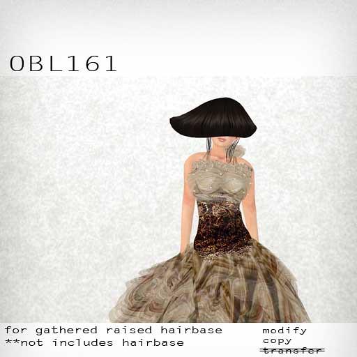 booN OBL161 hair