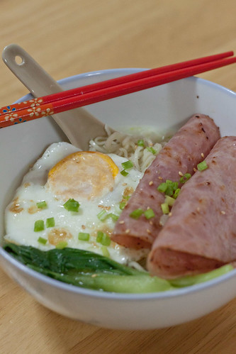 Instant Noodles Cafe Style