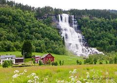 Tvindefossen (dmcantrell) Tags: norway waterfall nikon 1755 d300 e16 afsdxzoomnikkor1755mmf28gifed tvinno 201106270529c1800 tvinnonorway