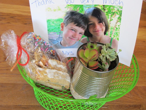 Teachers Year End Thank You Baskets