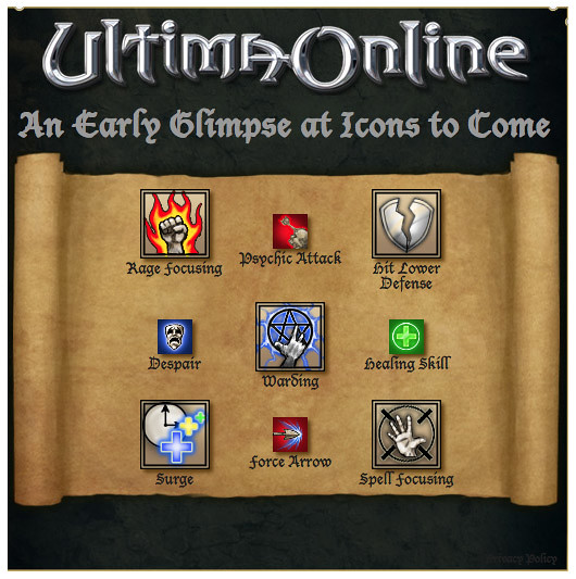 Ultima Online - New Icons