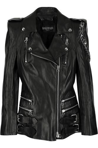 fotos de jaquetas femininas de couro