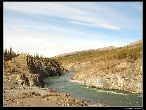 Sheep Creek meeting Firth River