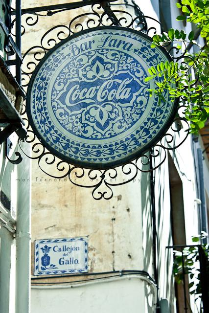 Coca-Cola Poster in Granada