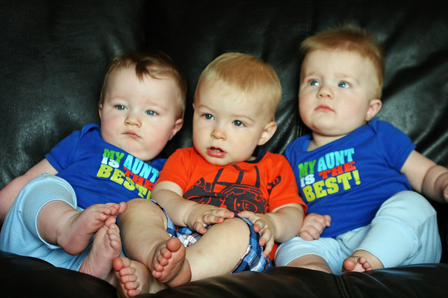 Braden & His Twin Cousins