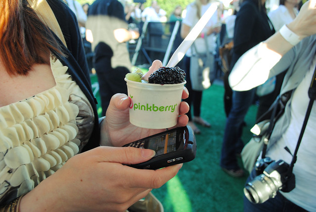 Pinkberry and Blackberry