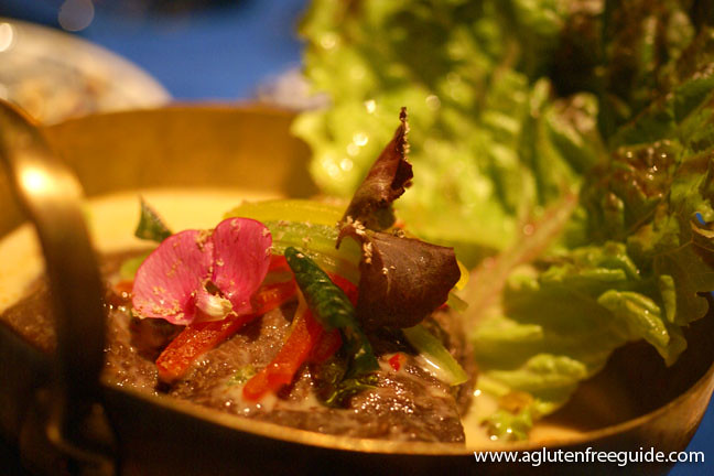 Beef Cheek curry, peanut, nutmeg, kaffir lime Next Restaurant Taste Of Thailand Menu Gluten-Free (19)