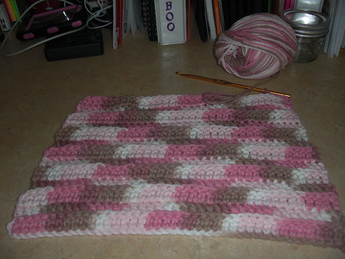 dish cloth I am working on now