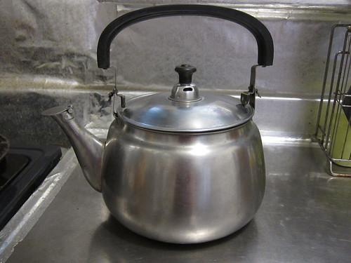 亮晶晶的茶壺