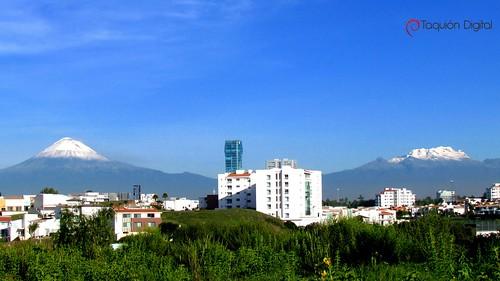 Popocatépetl - Iztaccíhuatl