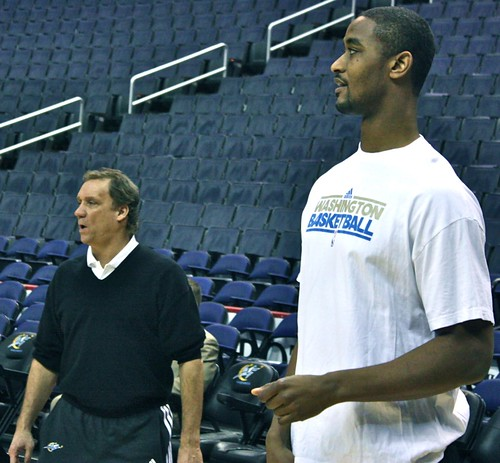 flip saunders, hilton armstrong, washington wizards, truth about it, adam mcginnis
