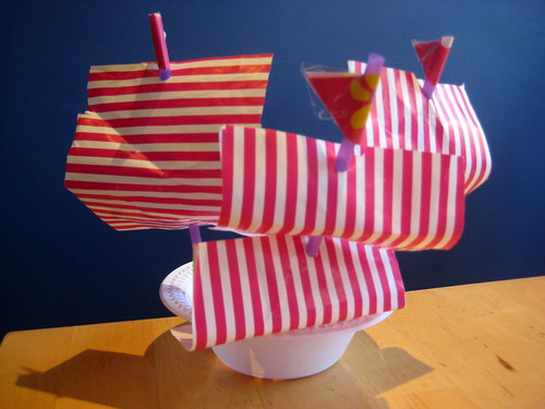 how to make a toy boat ship