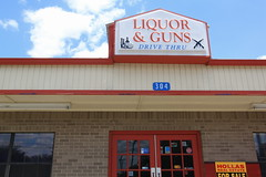 Liquor & Guns Drive Thru