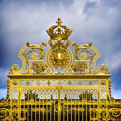 Les Grilles du Chteau de Versailles/Gates of Versailles Palace (Repp1) Tags: france gold gates palace symmetry versailles chteau d300 symtrie cs5 grillesdor