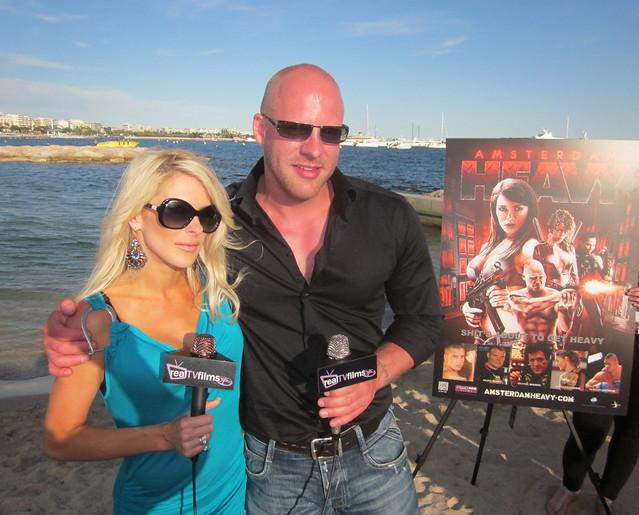 Jennifer Lexon, Rik Sinkledam, Amsterdam Heavy, Cannes Film Festival 2011