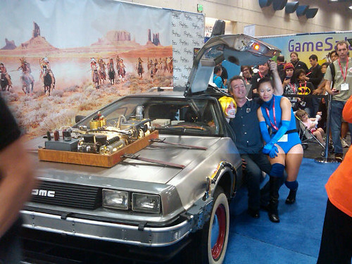 Comic-Con 2011 DeLorean 2