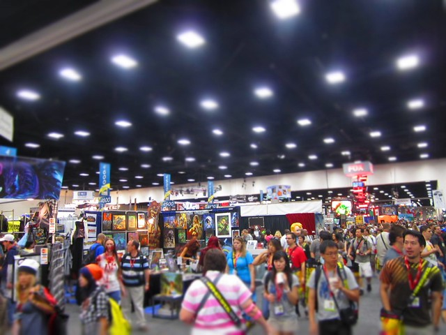 Comic-Con Exhibit Floor