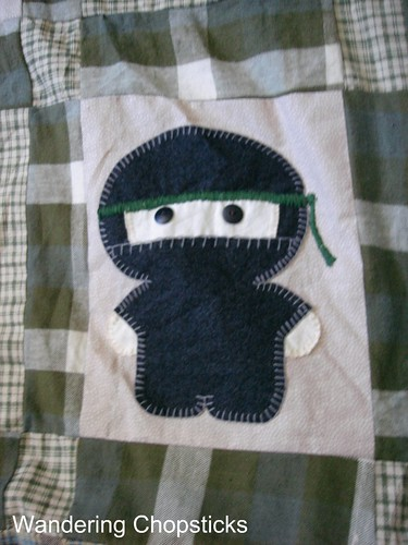 The Middle '87's Ninja Quilt 3