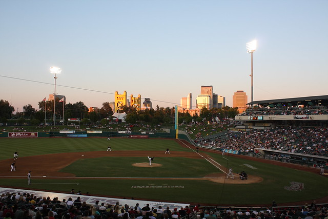 River Cats Baseball @ Raley Field