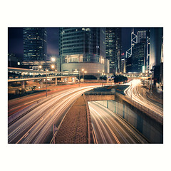 (jim_213) Tags: road city light hongkong stream traffic sony a55 sal1680z