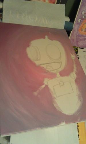 Gir Painting - 7/25/11