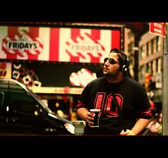 Street Life (MJ ♛) Tags: life street new york usa ny canon eos 50mm us traffic 10 streetlife headset 7d f18 beats 2011 jum3a jumaa almohannadi