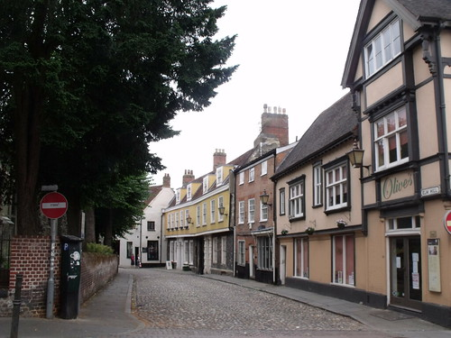 Elm Hill, Norwich (from Wensum Street)