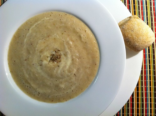 Roasted Cauliflower & Fennel Soup by mjd-s