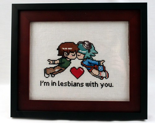 I'm in Lesbians with You