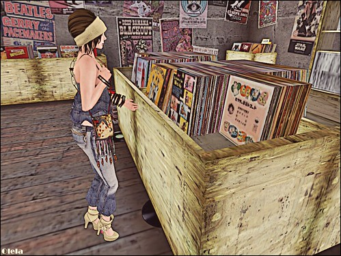 Love the smell of vinyl record shops
