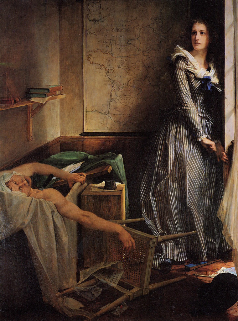L'Assassinat de Marat, Paul Baudry (1860)