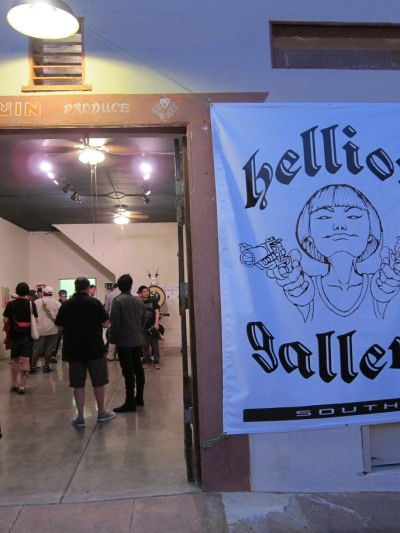 PDX vs TYO at Hellion Gallery