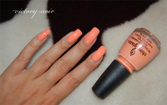 China Glaze Peachy Keen DSC_5238