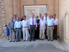 """Der Menschenrechtsbeauftragte des türkischen Parlamentes im Kloster Mor Gabriel • <a style=""""font-size:0.8em;"""" href=""""http://www.flickr.com/photos/65713616@N03/5990413133/"""" target=""""_blank"""">View on Flickr</a>"""