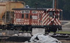 Columbus, Ohio (Bob McGilvray Jr.) Tags: railroad train tracks caboose columbusohio csx operationlifesaver parsonsyard photographedfromapublicroadway