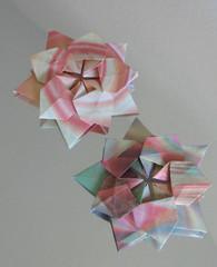 Estrella Sakura (Vielfaeltig2010) Tags: origami sakura kirschblte davidmartinez davidmartnez papierfalten estrellasakura sternsakura starsakura