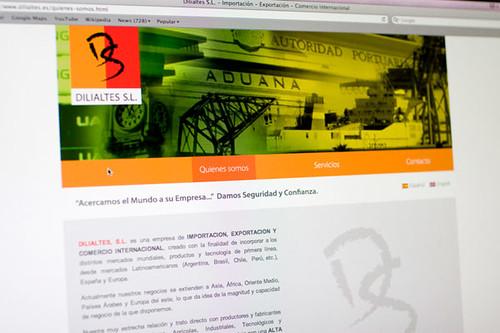 Página web para Dilialtés