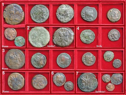 Roman Republic Anonymous Struck Bronzes, Second Punic War period