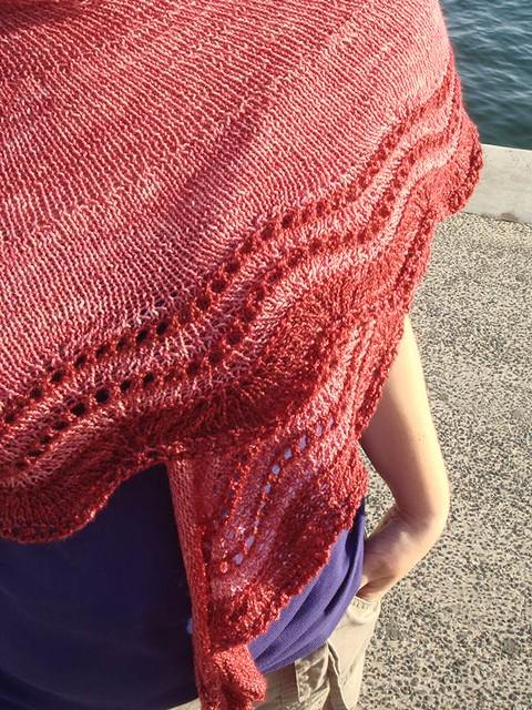 Whippoorwill shawl