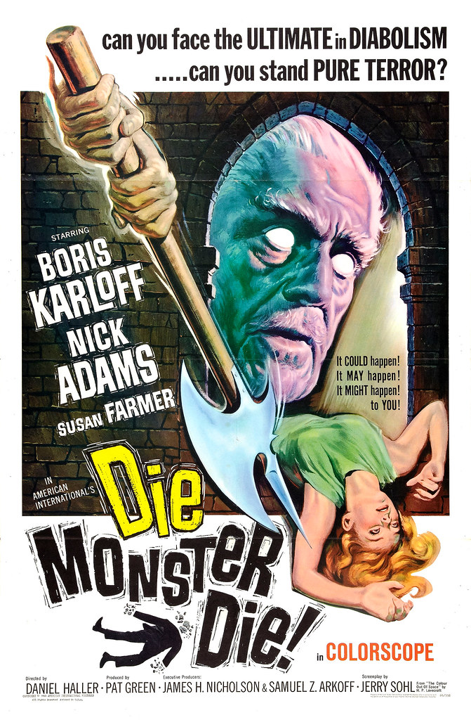 Reynold Brown - Die Monster Die! (American International, 1965)