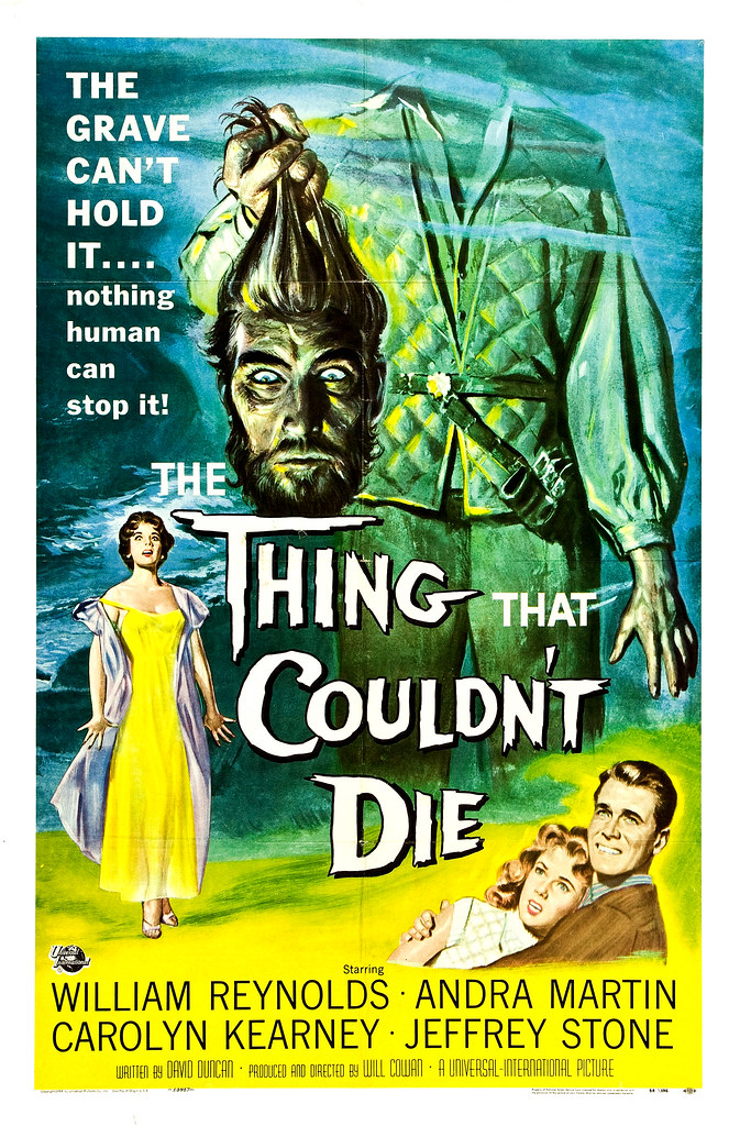 Reynold Brown - The Thing That Couldn't Die (Universal International, 1958)