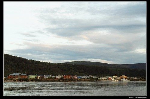 Dawson City on Yukon River