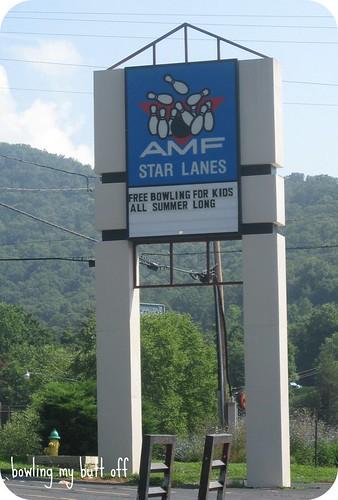 AMF Lanes, Asheville NC